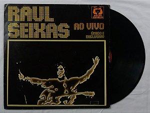 Disco de Vinil Raul Seixas - Ao vivo único e exclusivo
