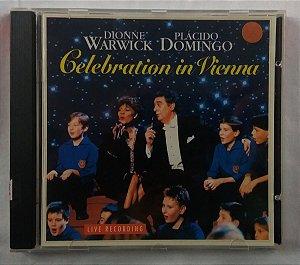 CD Dionne Warwick / Plácido Domingo - Celebration in Vienna - Made USA