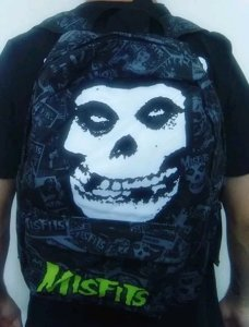 Mochila Escolar - The Misfits