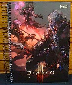Caderno escolar - Diablo