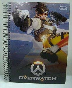 Caderno escolar - Overwatch