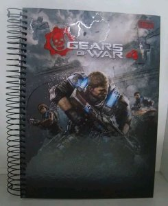 Caderno Escolar - Gears of War 4