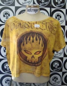 Blusinha feminina The Offspring