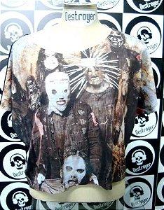 Blusinha feminina Slipknot
