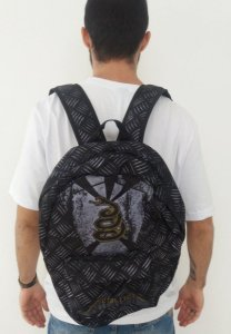 Mochila Escolar - Metallica - Black Album