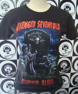 Baby look - Avenged Sevenfold - Buried Alive