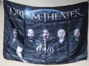 Bandeira Dream Theater - Along for the Ride Rour 2014
