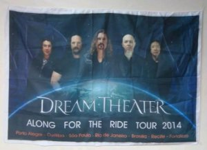 Bandeira Dream Theater - Along for the ride tour 2014