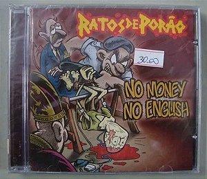 CD Ratos de Porão - No money No English