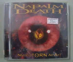 CD Napalm Death - Inside The Torn Apart