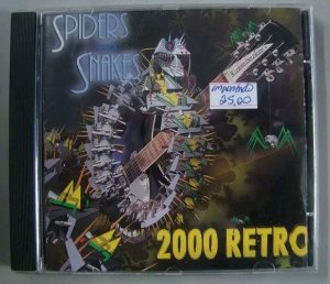 CD Spiders & Snakes - 2000 Retro - Importado