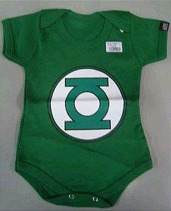 Body para bebês - Lanterna Verde