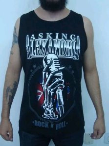 Camiseta Regata Asking Alexandria - Rock and Roll