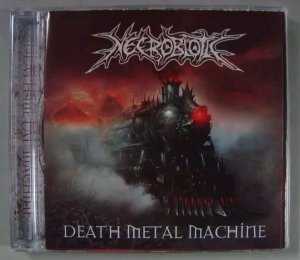 CD Necrobiotic - Death Metal Machine
