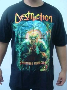 Camiseta Destruction - Spiritual Genocide