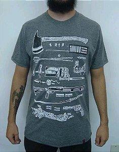 Camiseta Armas para o Apocalipse Zumbi
