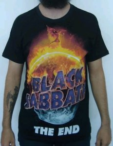 Camiseta Black Sabbath - The End