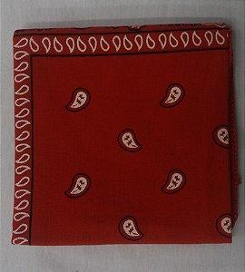 Bandana lenço tradicional Vermelha