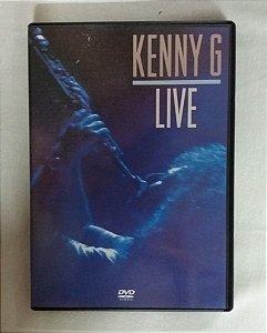 DVD Kenny G - Live