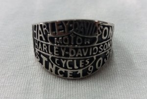 Anel - Harley Davidson Motorcycles - Since 1903