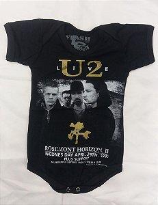 Body para bebês - U2 - Live