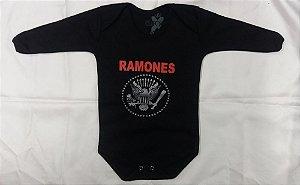Body para bebês longa -  Ramones