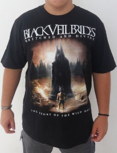Camiseta Black Veil Brides - Wretched and Divine