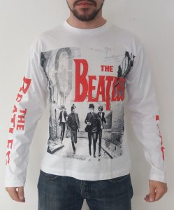 Camiseta manga longa The Beatles - Hard Days Night