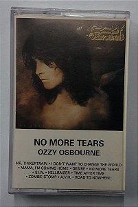 Fita Cassete Ozzy Osbourne - No More Tears