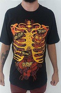 Camiseta Esqueleto Corpo Humano