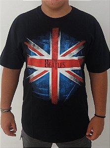 Camiseta The Beatles - Bandeira reino unido