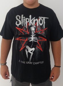Camiseta Slipknot - 5: The Gray Chapter