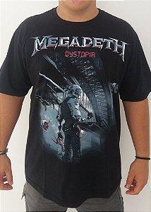 Camiseta Megadeth - Dystopia