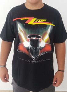 Camiseta ZZ Top - Eliminator