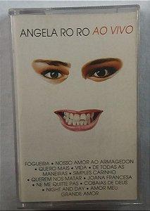 Fita Cassete Angela RO RO Ao vivo - Nosso Amor ao Armagedon