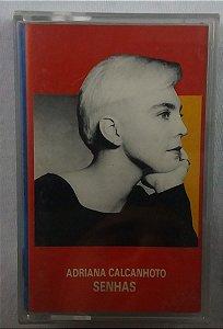 Fita Cassete Adriana Calcanhoto - Senhas