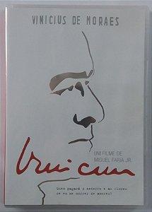 DVD Vinicius de Moraes - Documentário por Miguel Faria Jr.