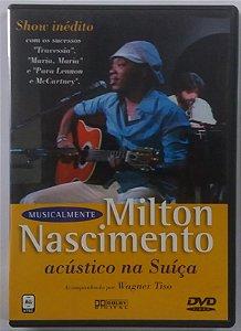 DVD Milton Nascimento - Acústico na Suíça