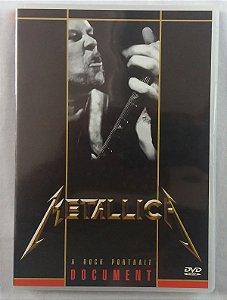 DVD Metallica - A Rock Portrait Document