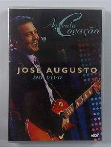 DVD Jose Augusto - Ao vivo - Aguenta coração