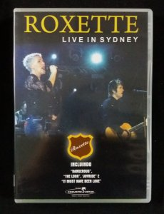 DVD Roxette - Live in Sydney