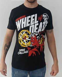 Camiseta Chemical - Wheels of Death - Custom Oldschool