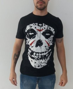 Camiseta The Misfits - Caveira