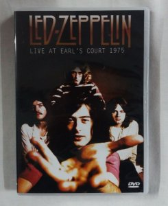 DVD Led Zeppelin - Live at Earl's Court 1975