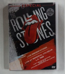 DVD The Rolling Stones - Especial Shows Live Presentations