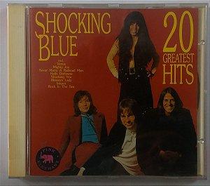 CD Shocking Blue - 20 Greatest Hits - Importado