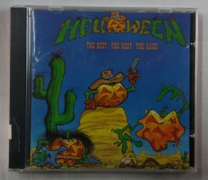 CD Helloween - The Best - The Rest - The Rare - Importado