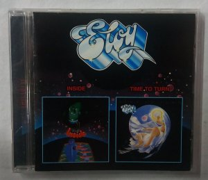 CD Eloy - Inside + Time to Turn - Importado