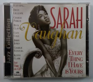 CD Sarah Vaughan - Everything I Have is yours