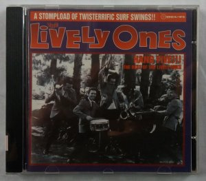 CD The Lively Ones - Hang Five !!! The Best of the Lively Ones